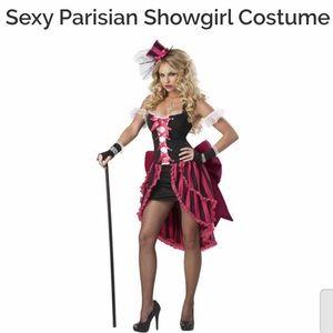 Parisian showgirl deluxe costume sz 14-16